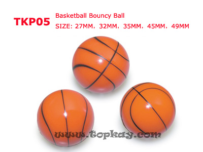 topkay:TKP05-Basketball bouncy ball