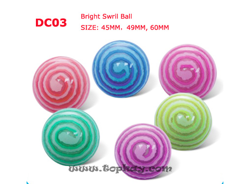 topkay:DC03-Bright Swirl Ball