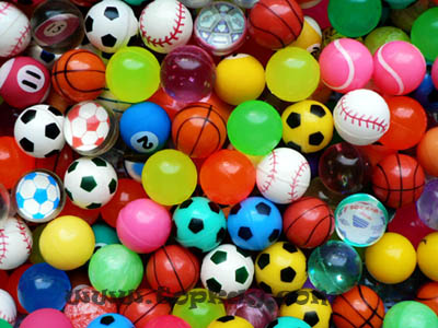 bouncy balls machine