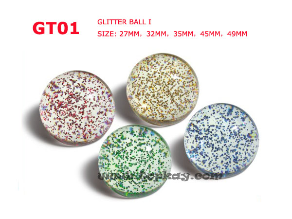 topkay:GT01-Glitter Bouncy Ball I