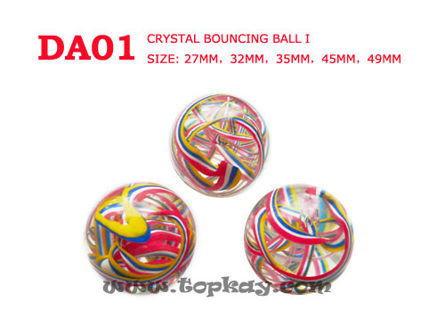 DA01-Crystal Bouncing Ball